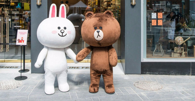 Line Friends Flagship Comes to Times Square