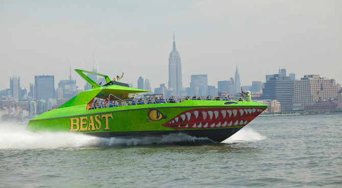 New York Water Thrills: Ride The Shark or The Beast at Half Price!