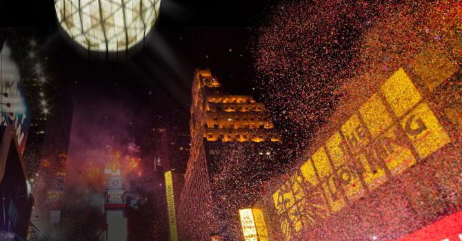 Times Square New Year's Eve: Pop Corks with Applebee's!