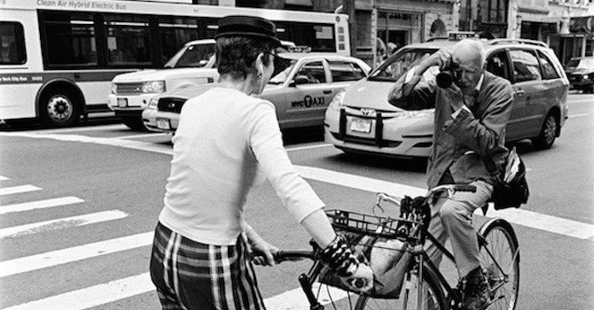 From Milliner to Photographer: Bill Cunningham's Work Celebrated at N-Y Historical Society