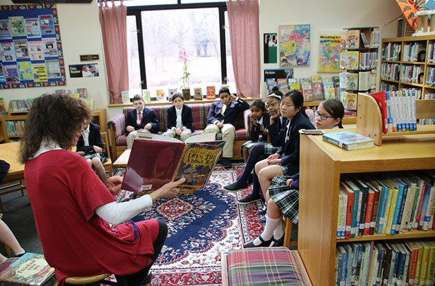 Buckley Country Day School Hosted Black History Month Read-Aloud