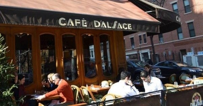 Upper East Side Restaurants for Outdoor Dining