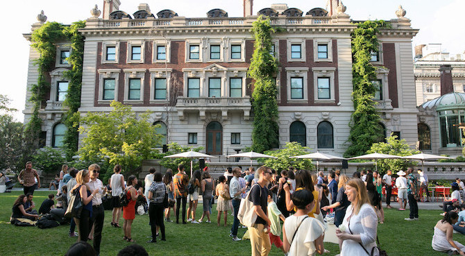 Cooper Hewitt Cocktail Thursdays Bring Music and More to an Enchanted Garden