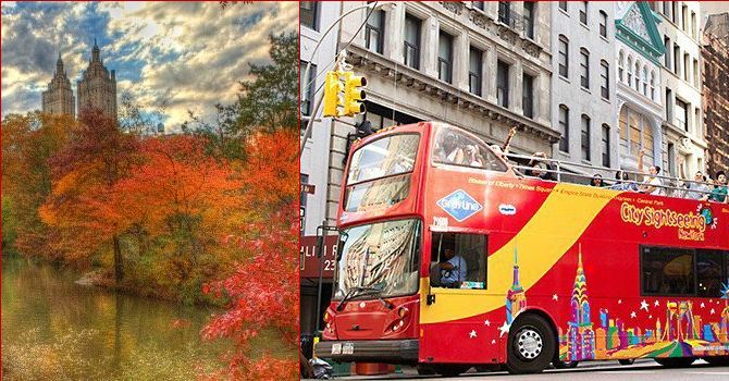 5 Reasons to Tour NYC by Bus This Fall