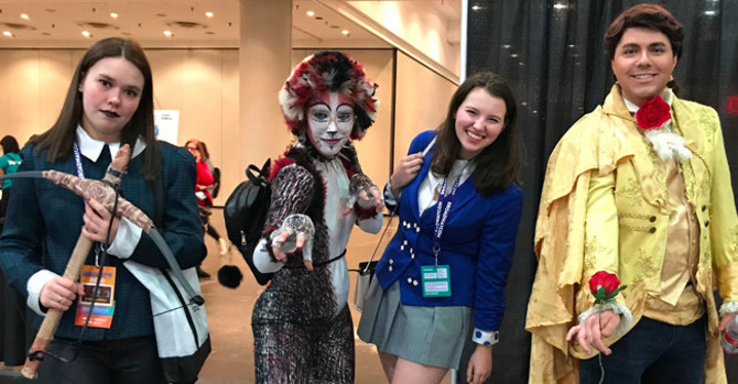 Confessions of a Theatre Geek: BroadwayCon 2018