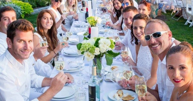 Dîner en Blanc, New York's Most Exclusive Picnic, Returns September 17th