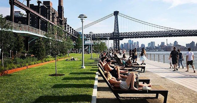 Seeing Green: Brooklyn Bridge Park's Pier 3 and Domino Park Are Now Open!