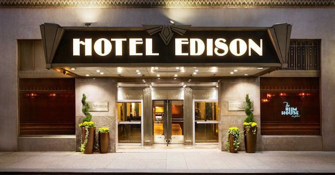 Hotel Edison Brings Art Deco Glamour to Modern Midtown