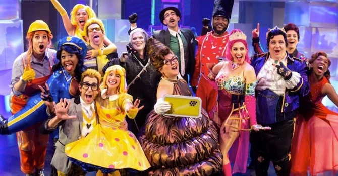 Off-Broadway's Top-Tier Trio: Emojiland, Forbidden Broadway, and Stomp