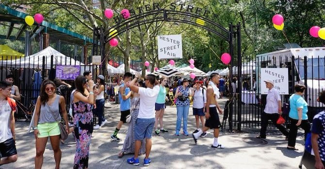 Upcoming Outdoor Craft Fairs in NYC