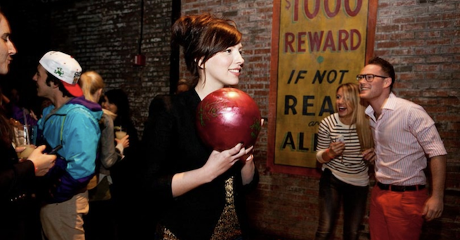 Drinks Plus Activities: Bowling, Manicures, Games, & More in NYC Bars
