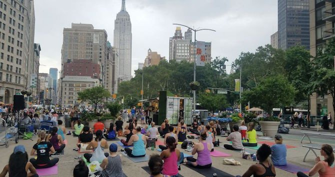 Flatiron Summer Series Offers Tech Classes, Fitness, and Games—for Free!