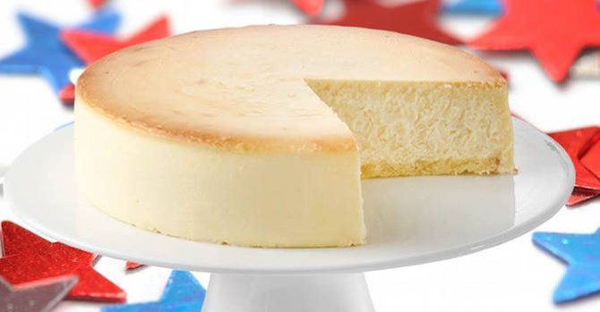 8 Slices of Classic New York Cheesecake