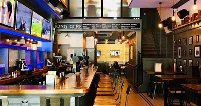 New Game in Town: The Long Acre Tavern Wows in Times Square