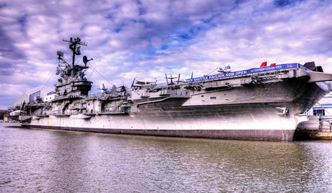 How to Spend a Day Aboard the Intrepid