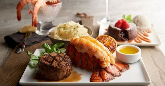 Steak and Seafood Special at Morton's The Steakhouse