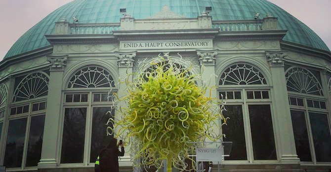 CHIHULY Glass Exhibit Illuminates the New York Botanical Garden
