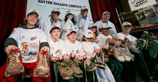 Hall of Fumes: Rotten Sneaker Contest at Ripley's Times Square