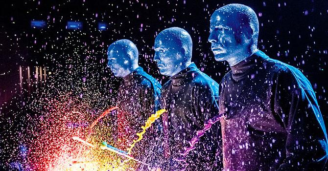 Local Color: Blue Man Group Celebrates 25 Years
