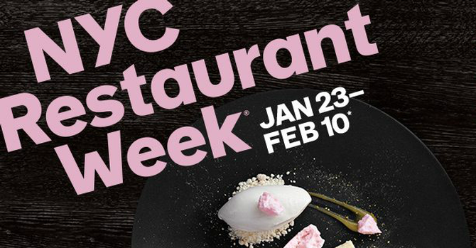 The Best of Restaurant Week NYC 2017