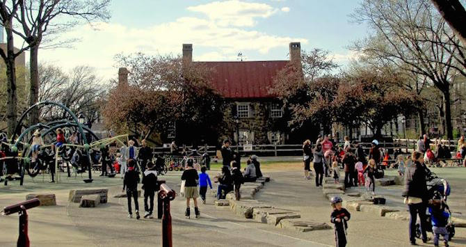 Visit a Revolutionary War Battle Site at the Old Stone House in Brooklyn