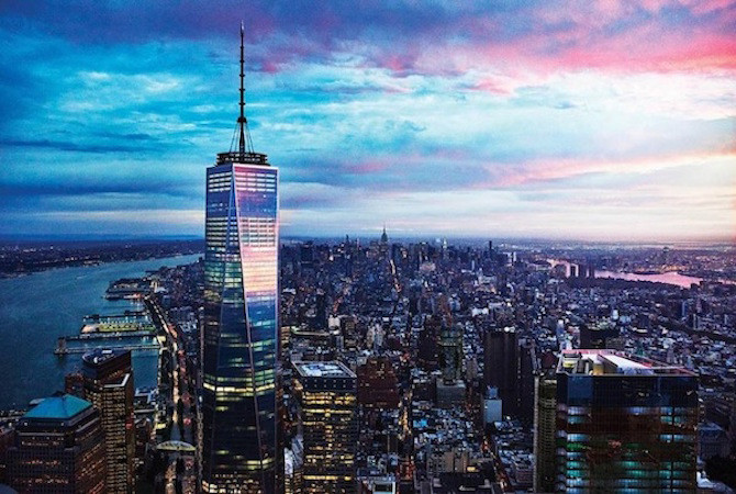 One World Observatory: The Past Is Present