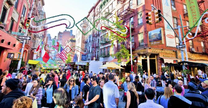Celebrate the 91st Feast of San Gennaro in Little Italy