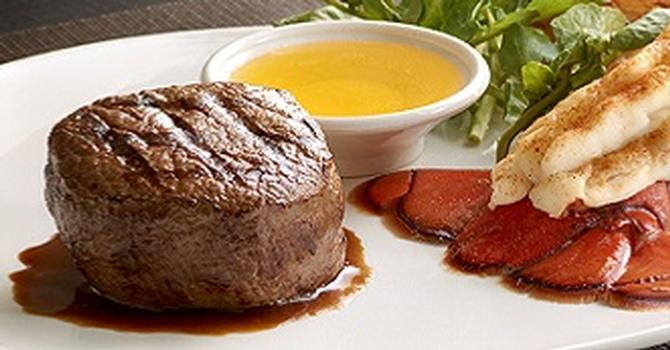 Lobster and Steak Special at Morton's The Steakhouse
