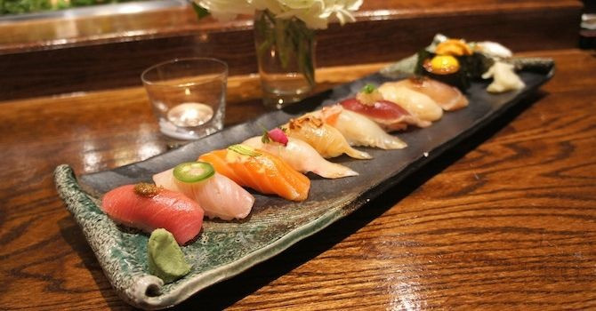 The Best Sushi in New York City