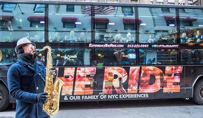 Hop Aboard THE RIDE and See NYC Like Never Before