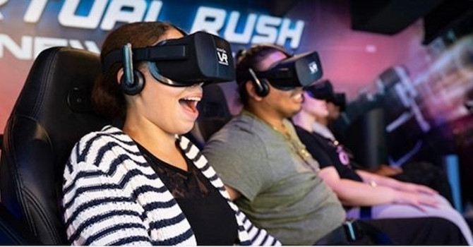 VR Experience 'Virtual Rush: New York' Comes to Empire Outlets on Staten Island