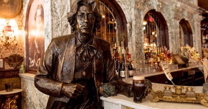 Enjoy a Libation at Oscar Wilde, NYC's Longest Bar