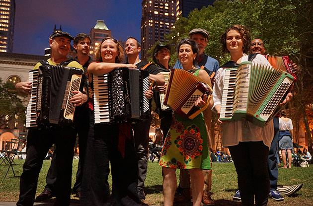 Hear Accordion Music From Around the World at Bryant Park