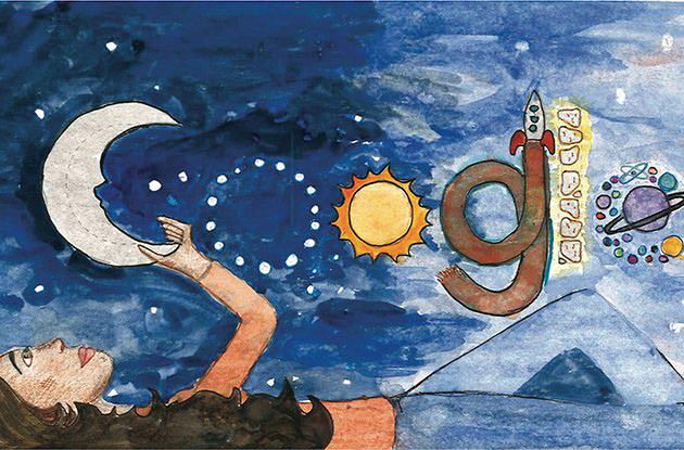 Brooklyn Student Wins the New York State Doodle 4 Google Competition
