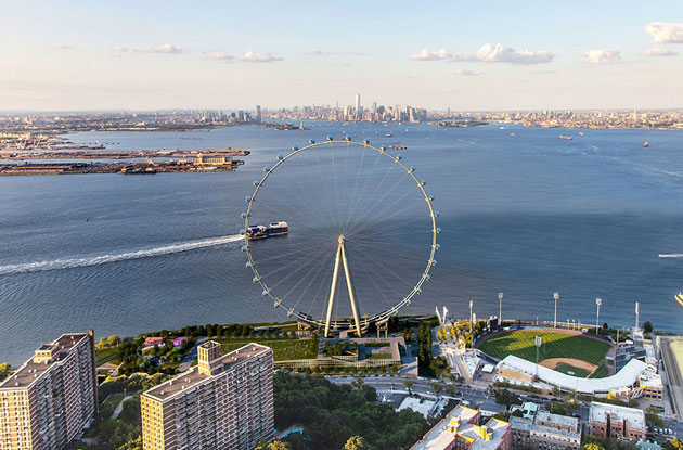 New York Wheel's Opening Delayed Until April 2018
