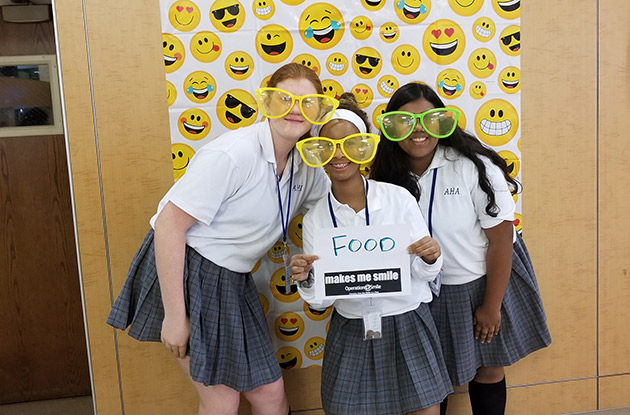 Academy of Holy Angels Students Raise Money for Crucial Medical Care of World Smile Day