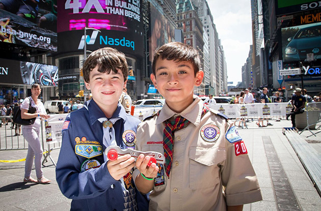 Boy Scouts To Host 4th Annual World Championship Pinewood Derby In Times Square