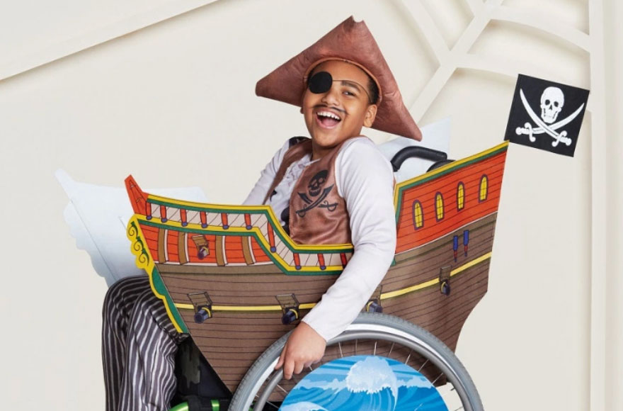 Target Adds Costumes that Accommodate Wheelchairs to Kids' Halloween Collection