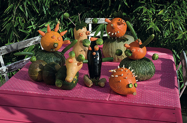 DIY: No Carve Pumpkin Animals