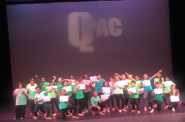 Queensborough Performing Arts Center and Local Councilmembers Join Forces for Kids Dance Workshop