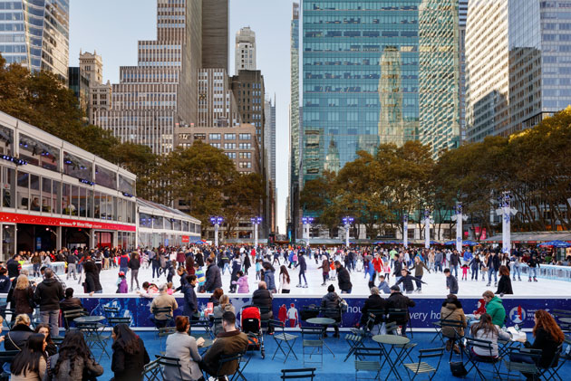 Bryant Park's Winter Village Opens for the Season