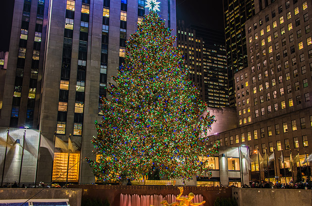 The 2018 Rockefeller Center Christmas Tree Lighting is Set for Wednesday, Nov. 28