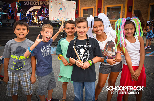 The School of Rock in Port Jefferson Offers Four New Summer Camps