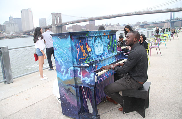 Sing for Hope to Place 60 Pianos Across NYC