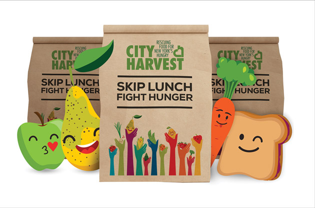 City Harvest is Encouraging New Yorkers to 'Skip Lunch, Fight Hunger'