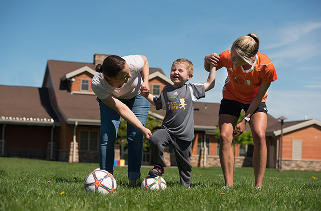 Soccer Shots in Syosset Launches New Program for Kids with Special Needs