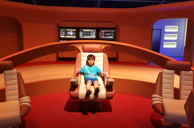 Star Trek: The Starfleet Academy Experience at the Intrepid