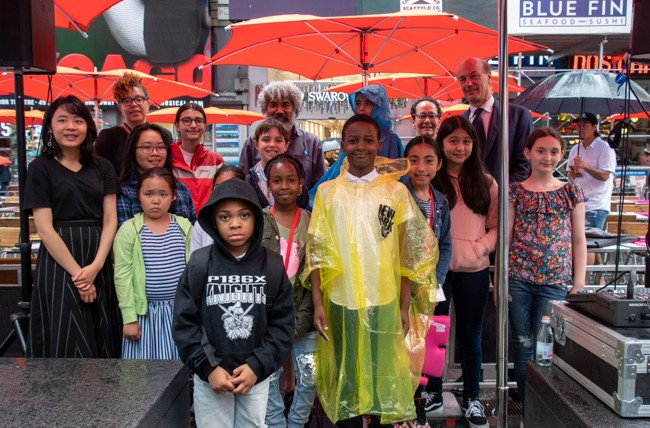 Times Square Is Showcasing NYC Student Artwork Through October
