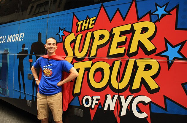 It's Bird, It's a Plane, It's a New NYC Superhero Tour!