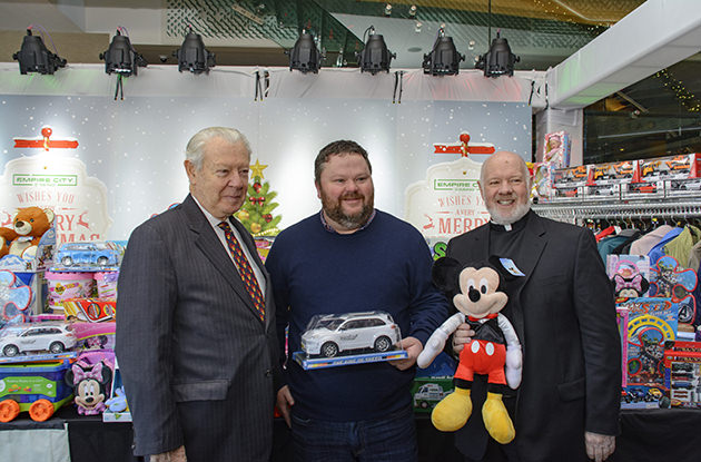 10th Annual 'Christmas Spirit' Toy and Coat Drive Raises Nearly 1,000 Items for Catholic Charities
